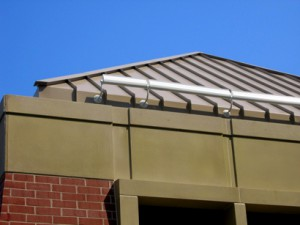 Roofing contractor who installed a metal roof project in Stamford CT