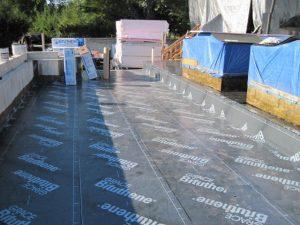 Bituthene deck waterproofing system