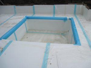 Preprufe underslab waterproofing system